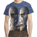 Camisa The Division Bell Camiseta Pink Floyd Estampa Total 17a43aed935