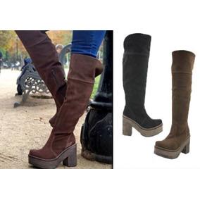 Botas Bucaneras Sin Taco - Botas de Mujer en Mercado Libre Chile 372046f870865