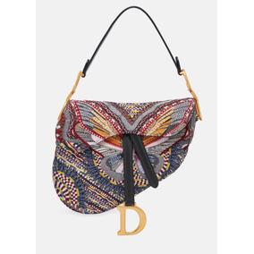 Bolsa Dior Saddle Bordado Borboleta - Pronta Entrega