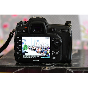 Camera Fotógrafica D 7100 Nikon , Corpo 25% De Clki