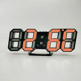 Relógio Digital 3d Exibição Led Relógio Eletrônico Usb