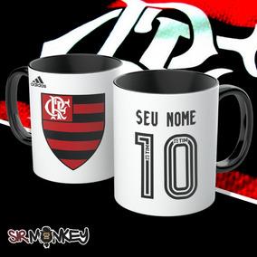 Caneca Flamengo Personalize Seu Nome E Número 7e529b8be7a00