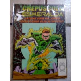 Lanterna Verde Crepúsculo Esmeralda Da Editora Abril.