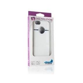 Capinha Para Iphone 5/5s Branco/preto - Mymax