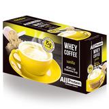 1cx Whey Coffee Vanilla - 25 Un De 25g P/ Caixa De 625g - 15
