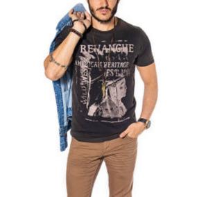 Camiseta Revanche Wild West Preta ea85e1a667b16