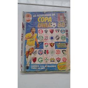 Álbum Copa União 88 Incompleto No Estado Das Imagens