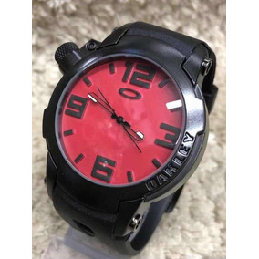 Relogio Oakley Holeshot Fundo Preto Masculino - Relógio Masculino no ... 458f448aa3