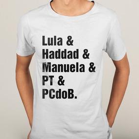 934b410829 Camisa Lula E Haddad E Manuela E Pt E Pcdob - 6 Cores · 6 cores. R  39