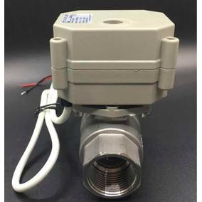 Válvula Esfera Elétrica Proporcional 4-20ma Inox