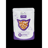 Brit Care Cat Chicken & Cheese Kitten Gatito Pouch 80gr