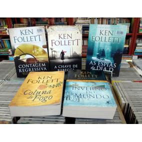 Ken Follett 5 Livros Varios Titulos