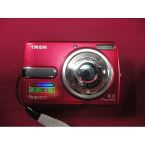 Câmera Digital Tron 16 Megapixels Bateria Li-ion Zerada!