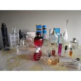 Colección Botellas Perfumes Dior Armani Yves Saintl Givenchy