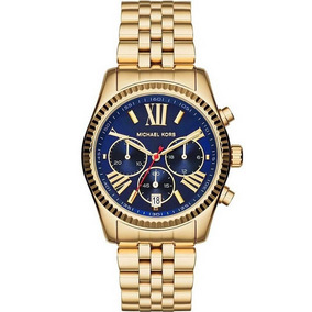 Relógio Michael Kors Lexington Cronógrafo Mk6206 4an. R  1.499 8d04f9ad60