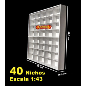 Estante - Expositor (40 - Chevrolet Collection) Coleção 1;43