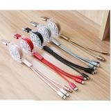 Cable 3 En 1 Carga Y Datos Tipo C, Micro Usb Y Lightning