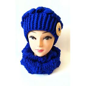 9fadf0c2a2db9 Gorro Tejido Gorras - Accesorios de Moda Azul en Mercado Libre México