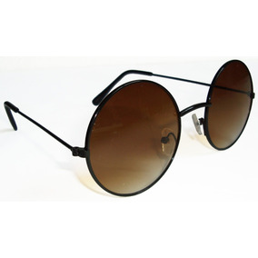 Oculos De Sol Lentes Redondas Masculino Feminino Unissex - Óculos no ... a75f32696c