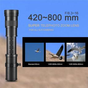 Lente 420-800mm Tele Sony Alpha E-mount A9 A7r3 A7 A7siii
