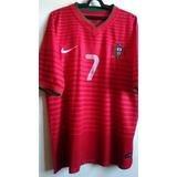 Camisa Seleção Portugal - Ronaldo 2014 - Modelo Paralelo 148e116992646