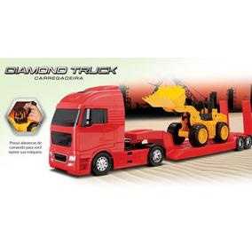 Caminhão Diamond Truck Carregadeira - Roma Infantil