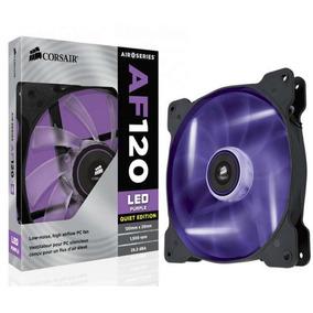 Fan Cooler Corsair Af120 Purple Led Co-9050015-pled Novo Cx