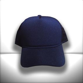 0b8eee62a8906 Bone Todo Liso Azul Marinho - Bonés para Masculino no Mercado Livre ...