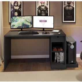 Mesa Para Computador Desk Game Drx 3000 Siena Móveis Ic