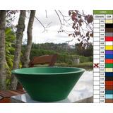 Vaso Planta 40x15 Bacia De Mesa Polietileno