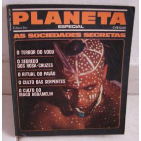 Especial Planeta - As Sociedades Secretas - 209 Páginas