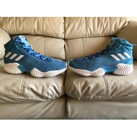 Tenis adidas Pro Bounce 2018 Blue Del 27mx