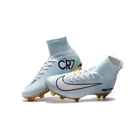 Chuteira Nike Mercurial Cr7 Dourada - Chuteiras Nike de Campo no ... d402819c41ec9