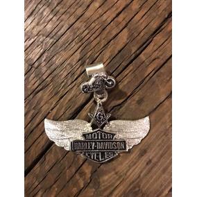 Dije Harley Davidson & Escudo Masón