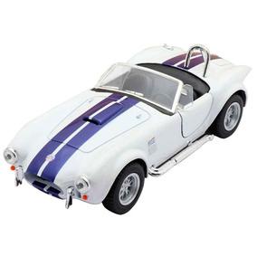 Miniatura 1965 Shelby Cobra Escala 1:32 Branco
