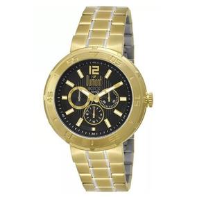 Relógio Dumont Rotor Masculino Dourada Du6p29abn/s2p
