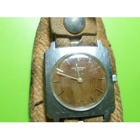 Antiguo Reloj De Cuerda Y Pulso Universal Geneve Swiss