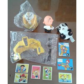 4 Brinquedos E Figurinhas Promocionais Mcdonald´s Diferentes