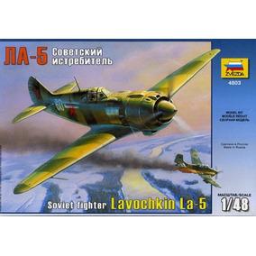 Avion Zvezda P/armar Lavochkin La 5 1/48 Kit 4803