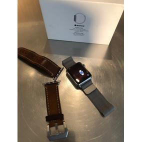 Apple Watch Serie 1 42mm Cristal Zafiro Y Strap Milanese