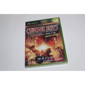 Crimson Skies Original Xbox Classic Lacrado