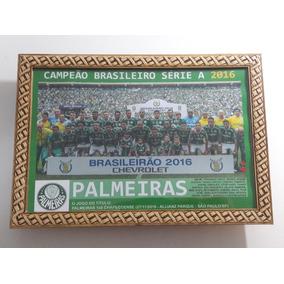 Quadro 20x30 Cm - Palmeiras - Campeão Brasileiro 2016