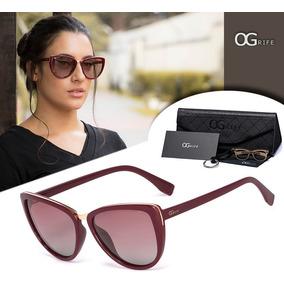 Oculos Ogrife Solar Feminino Og 706-c Polarizado Uv Original 3fedd11485