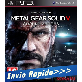 Metal Gear Solid V 5 Ground Zeroes Mídia Digital - Psn - Ps3