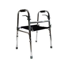 Andadera De Aluminio Ortopedica Con Asiento De Lona Cdmx Df 780d17d2e885