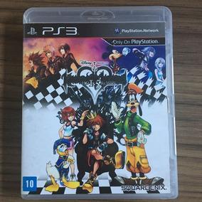 Jogo Ps3 Kingdom Hearts Hd 1.5 Remix Seminovo Físico