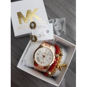 Kit, Relógio, Brinco E Pulseira