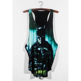 Camiseta Regata Batman - Camisetas Regatas para Masculino no Mercado ... 3e380b25a55