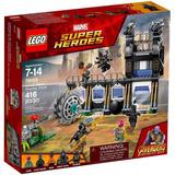 Lego 76013 Ataque De La Desgranadora De Corvus (1028)