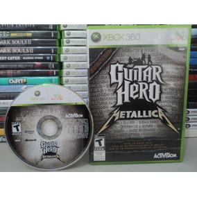 Guitar Hero Metallica Xbox 360 Jogo Original Barato